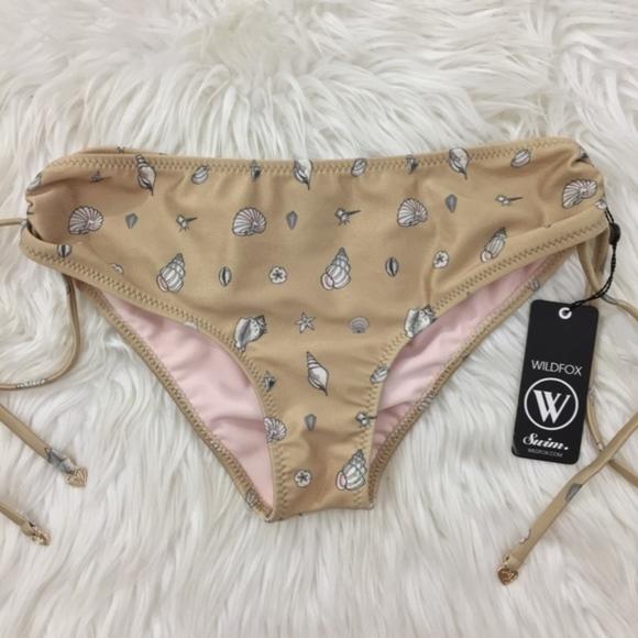 01ed237a86 Wildfox Seashell Bikini Bottom